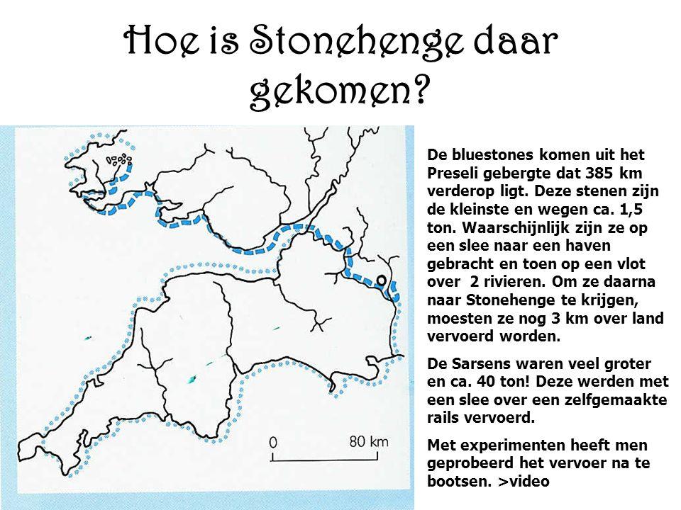 Hoe is Stonehenge daar gekomen.