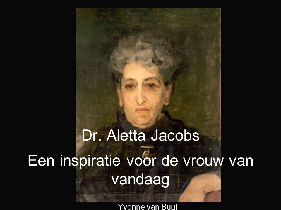 2 Wie was Aletta Henriëtte Jacobs.