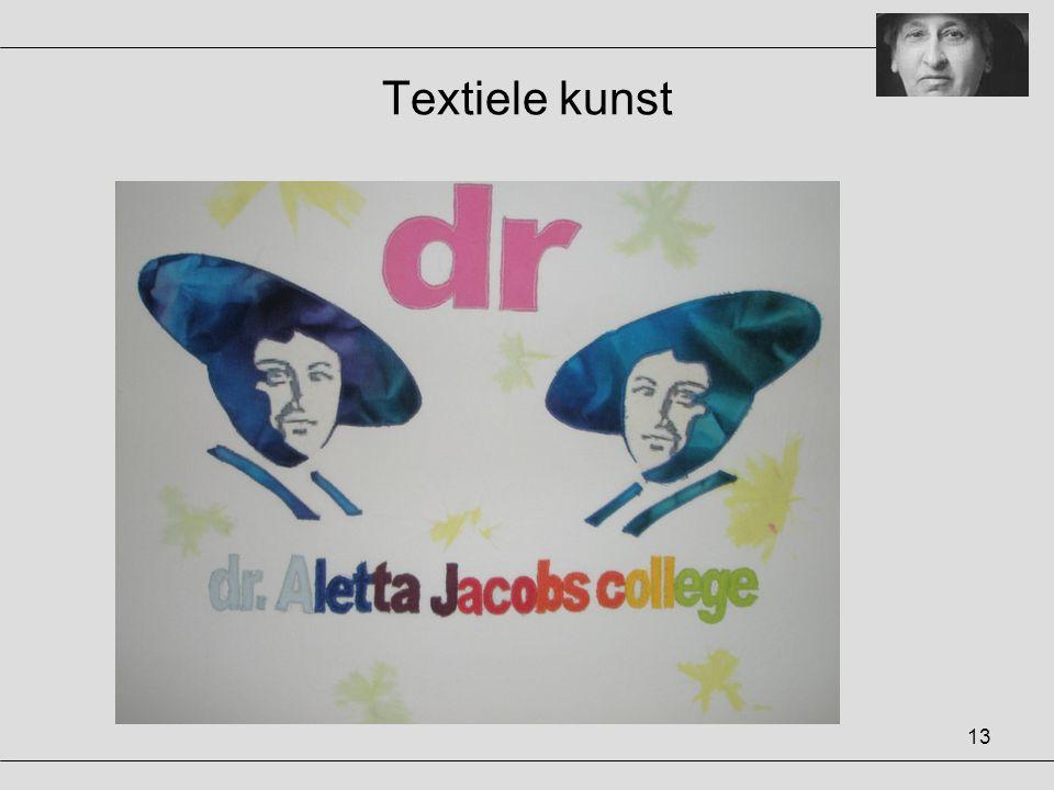 13 Textiele kunst
