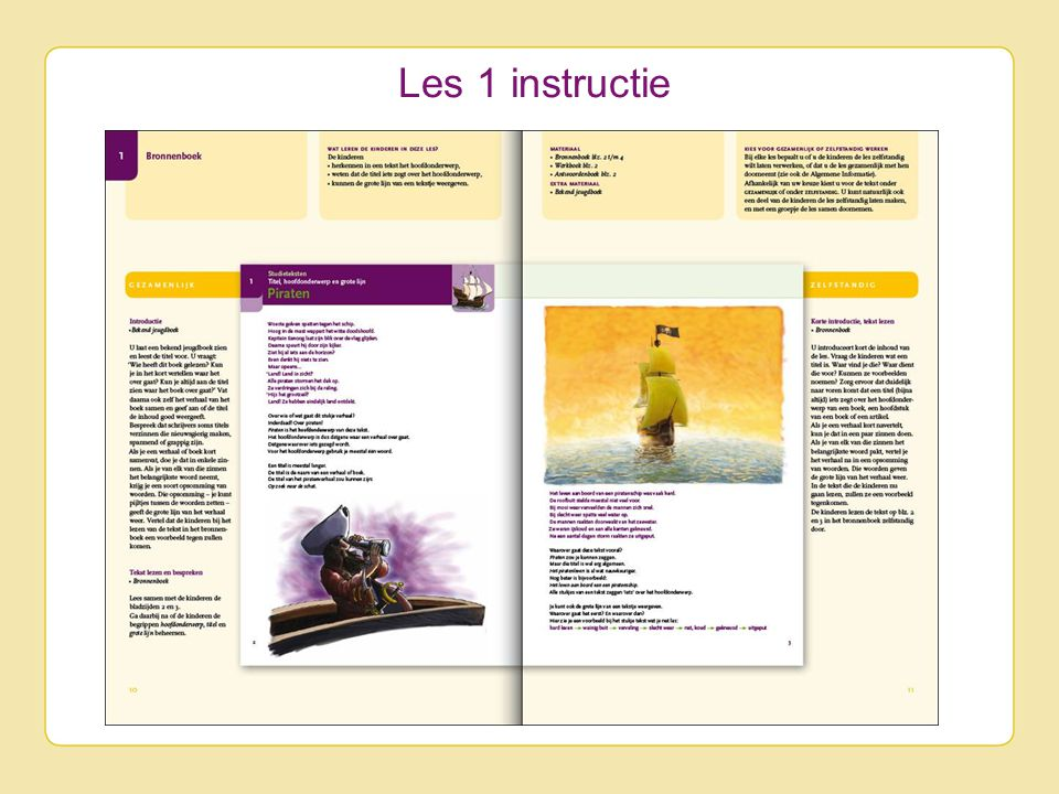 Les 1 instructie