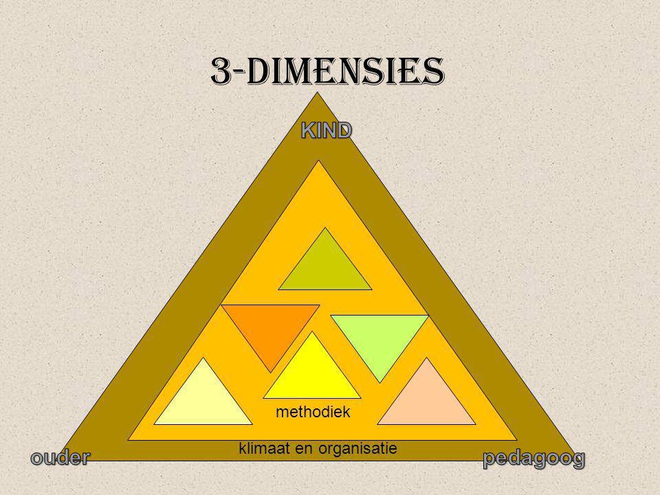klimaat en organisatie 3-dimensies methodiek