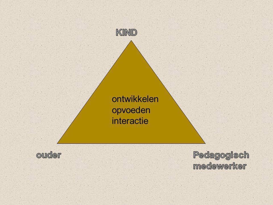 ontwikkelen opvoeden interactie
