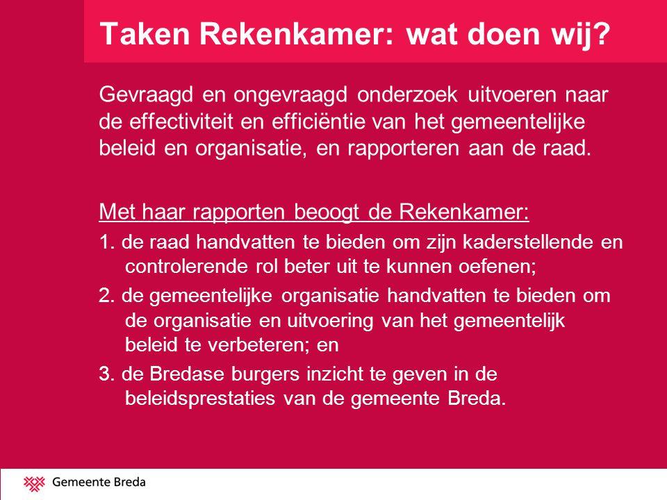 Voorlopig onderzoeksprogramma 2014 1.Quickscan Verbonden partijen-gemeenschappe- lijke regelingen, een kort onderzoek naar de informatievoorziening, de besluitvormingsprocessen en de invloed van de raad hierop.