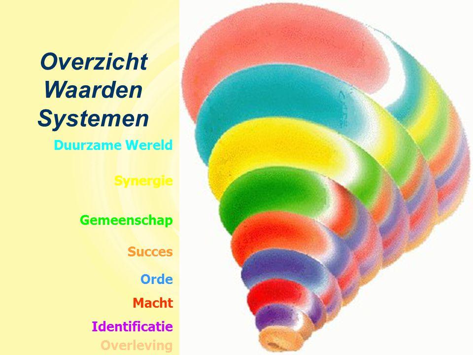 Macht Synergie Identificatie Orde Duurzame Wereld Gemeenschap Succes Overleving Overzicht Waarden Systemen
