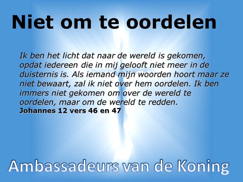 Elke jongere… Is het ook jouw, uw verdriet dat er tienduizenden mensen in Dordrecht verloren zullen gaan, wanneer God zich niet over hen ontfermt?