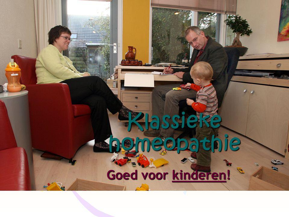 Klassieke homeopathie Goed voor kinderen!