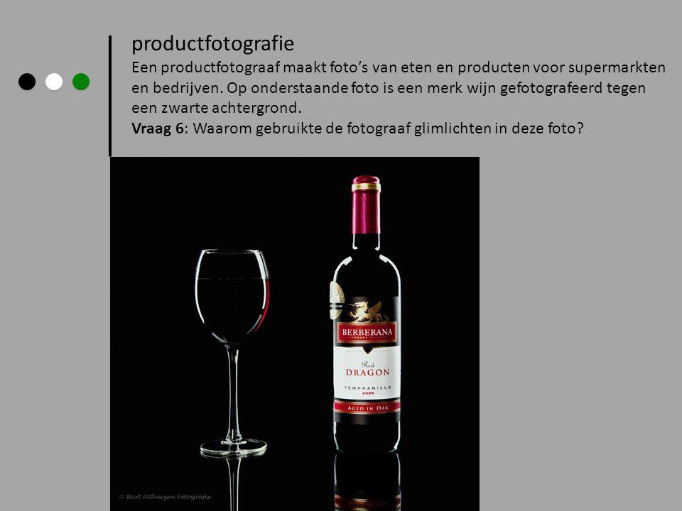 productfotografie Een productfotograaf maakt foto's van eten en producten voor supermarkten en bedrijven. Op onderstaande foto is een merk wijn gefoto