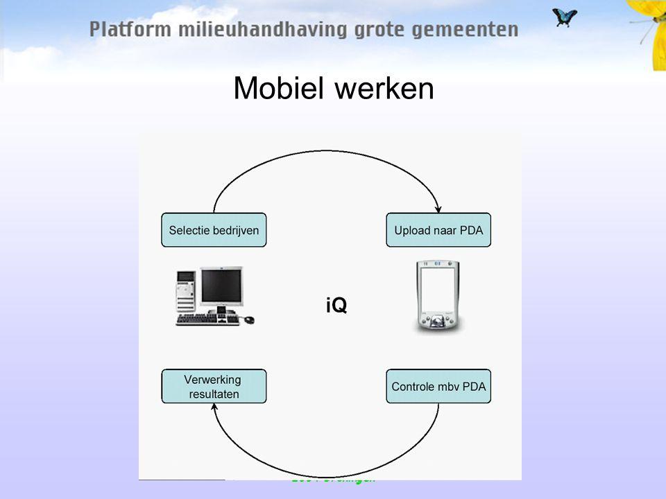 MPM Maarten Frenk 15 oktober 2004 Groningen Mobiel werken De techniek is vrijwel klaar.