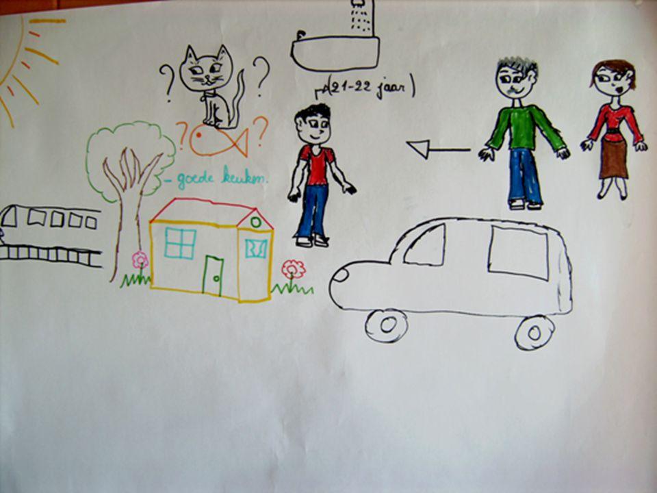 Persoonlijke Toekomstplanning : concreet stap 3 : persoonlijke toekomstvisie -Wat wil de centrale persoon ? wat zijn de dromen, toekomstverwachtingen,