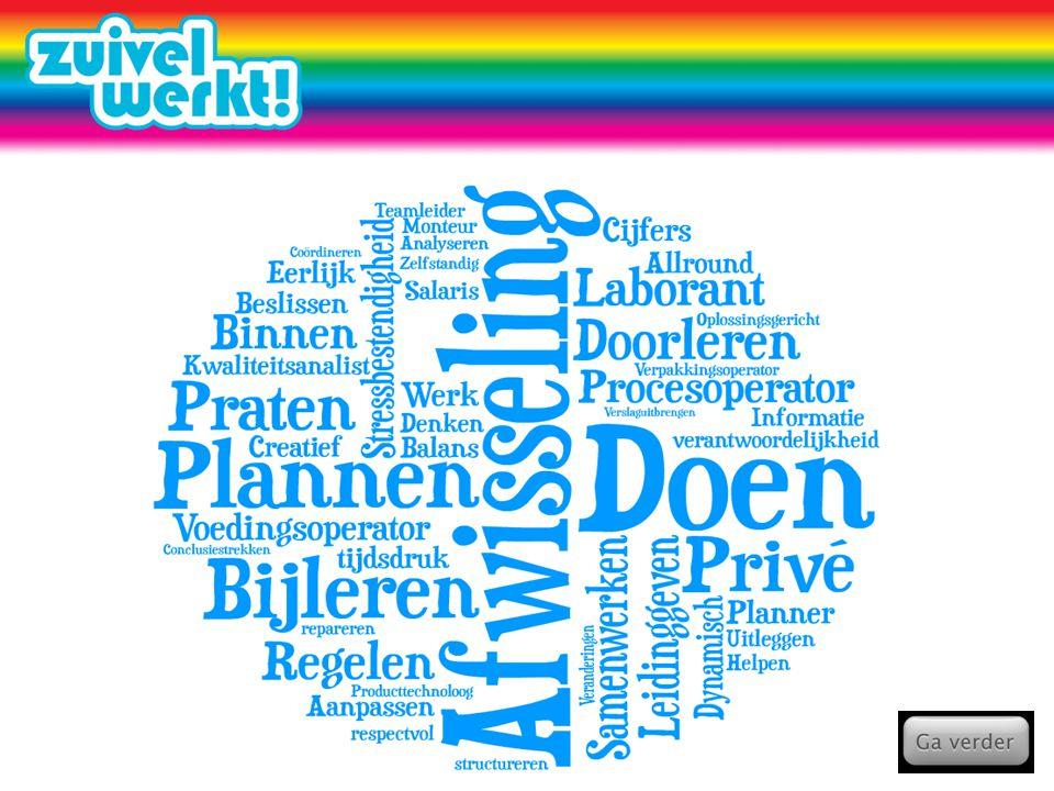 Planner Jij stelt de planning op die de andere medewerkers helpen een optimale productie te realiseren.