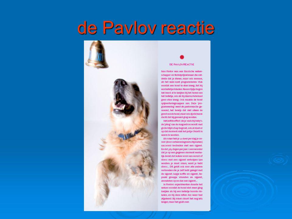 de Pavlov reactie