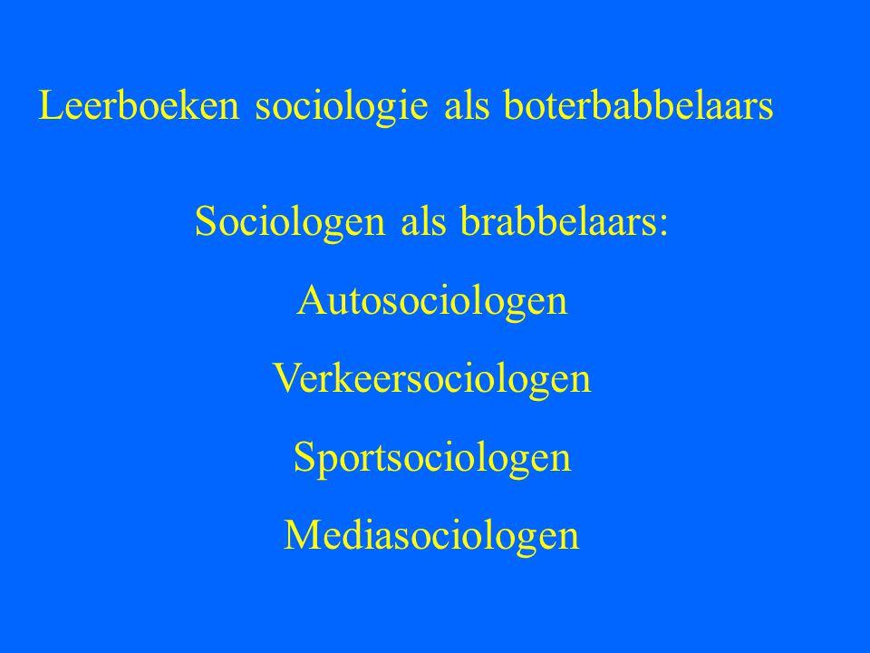 Wat is sociologie?