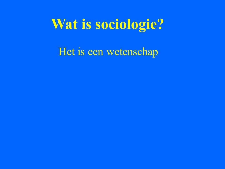 En culturele antropologie?