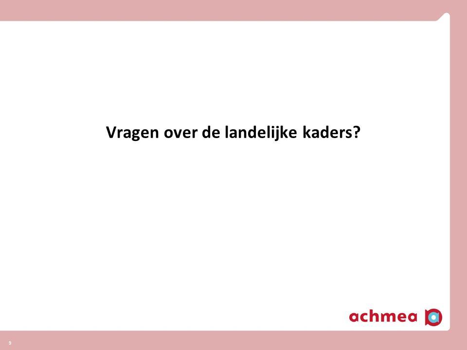 Visie langdurige zorg (2020) 10 Betrokkenheid en invloed Achmea op alle betrokken partijen zorgt voor kwaliteitsverbetering en kostenbeheersing in langdurige zorg Door in de formele zorg te sturen op kwaliteit, doelmatigheid en toegankelijkheid Door informele zorg (mantelzorg, welzijn) aan ouderen te versterken Door versterken zelfredzaamheid patiënt Afbouwen intramurale zorg en investeren in extramurale zorg, verbeteren uitkomsten.