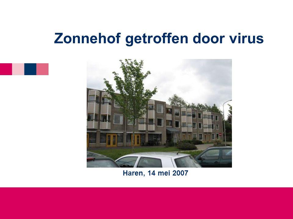 Zonnehof getroffen door virus Haren, 14 mei 2007