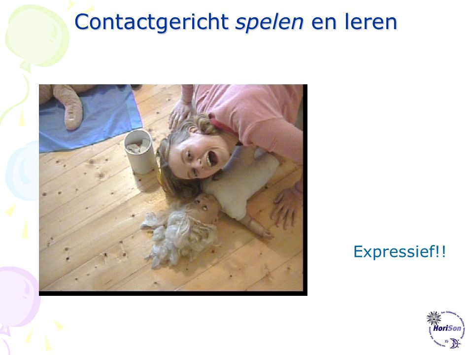 Contactgericht spelen en leren Expressie!
