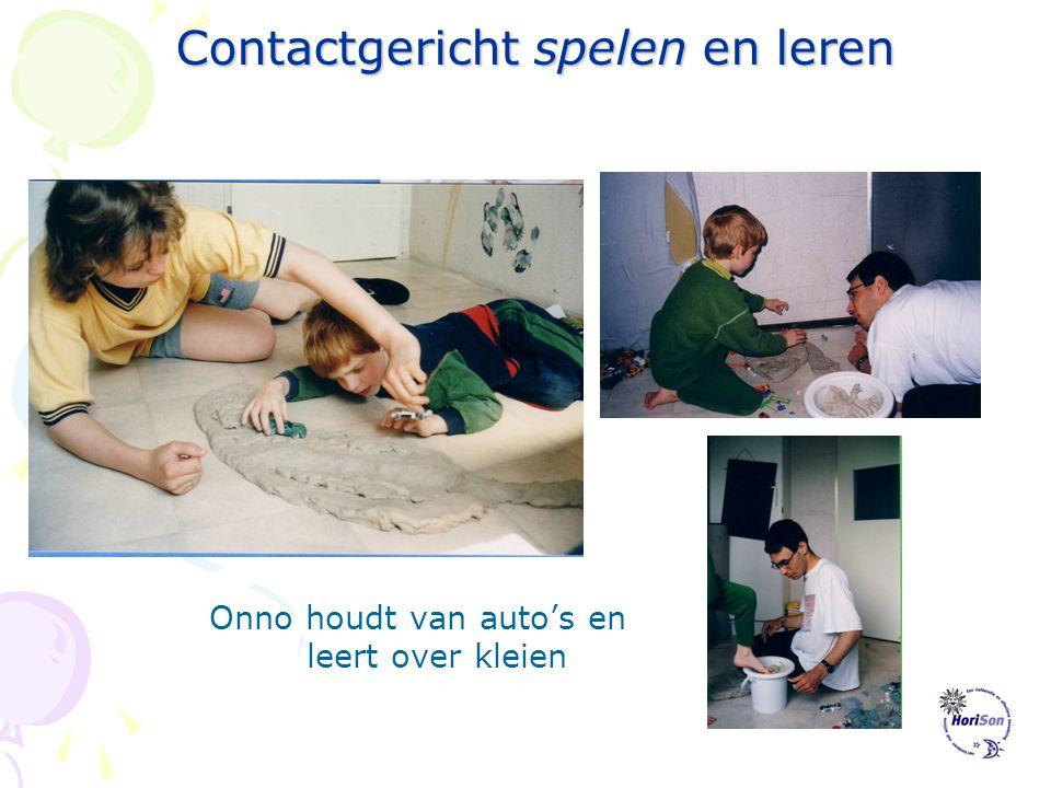 Contactgericht spelen en leren Contactgericht leren: Leren gaat sneller als een kind gemotiveerd is. Dus koppel je doelen aan de motivatie van het kin