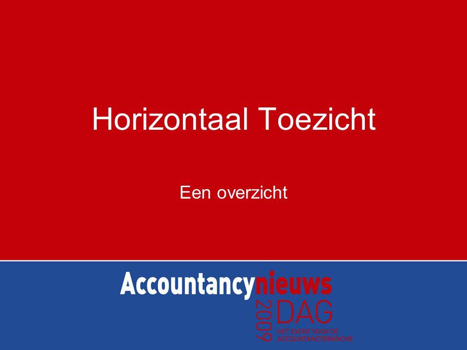 Inhoud van presentatie •Horizontaal Toezicht –Inleiding, achtergrond en voor-en nadelen –Werkwijze belastingdienst –De praktijk •Vragen?