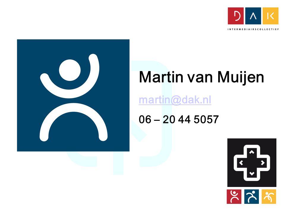 Tour CoöperActief Martin van Muijen martin@dak.nl 06 – 20 44 5057