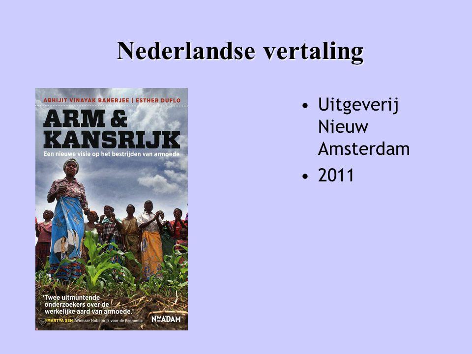 Nederlandse vertaling • Uitgeverij Nieuw Amsterdam • 2011