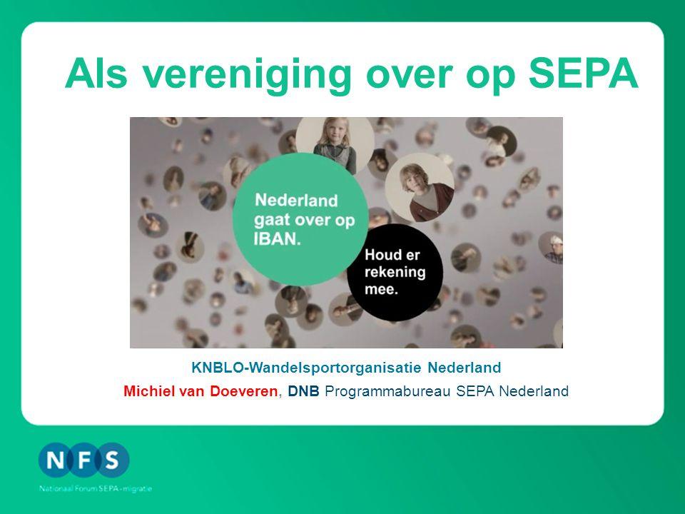 Agenda 1.Wat is Single Euro Payments Area (SEPA).2.Hoe migreren we in Nederland.