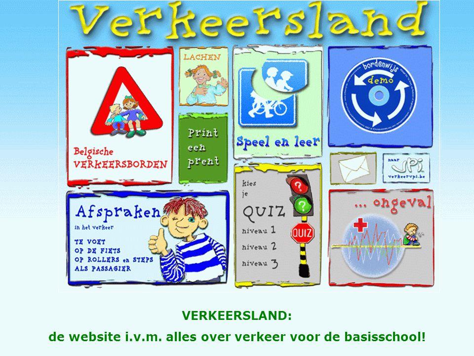 VERKEERSLAND: de website i.v.m. alles over verkeer voor de basisschool!