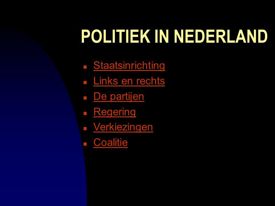 Politieke partijen Debbie van Knotsenburg (Groepsgenoten: Tamara en Remko) Staatsinrichting website informatica
