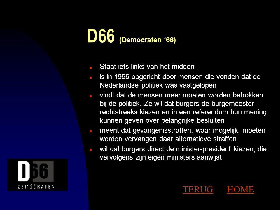 PvdA (Partij van de Arbeid) n staat links van het midden en is een socialistische partij n vindt dat kennis, macht en inkomen eerlijk moeten worden ve