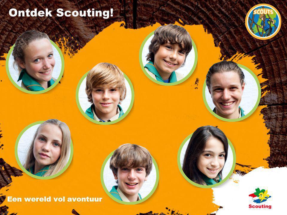 Ontdek Scouting! Een wereld vol avontuur