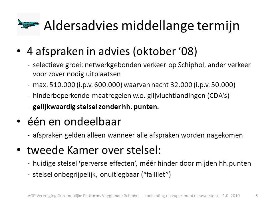 Schiphol moet in beide stelsels blijven binnen de in het Luchthavenverkeersbesluit vastgelegde milieunormen: • max.