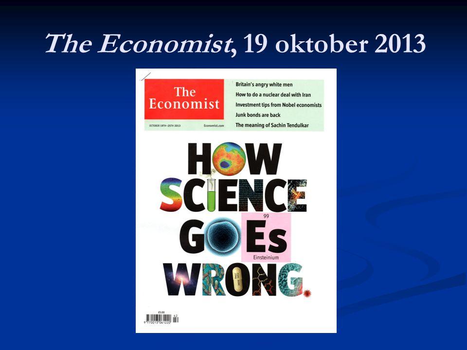 The Economist, 19 oktober 2013