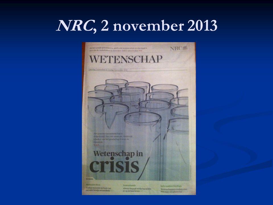 NRC, 2 november 2013