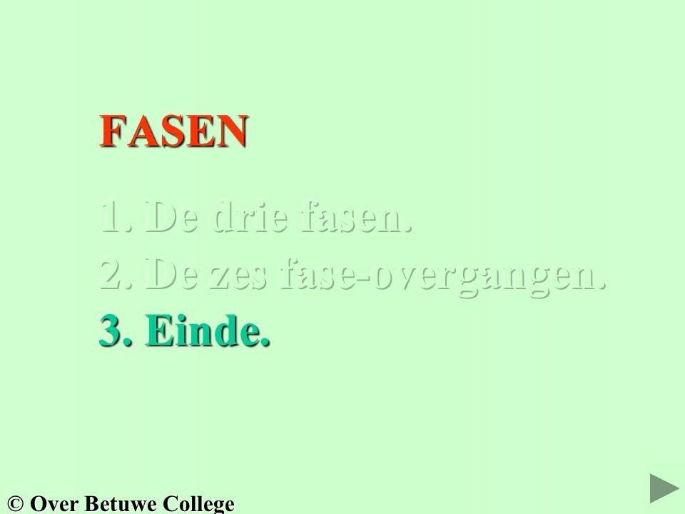 FASEN FASEN © Over Betuwe College