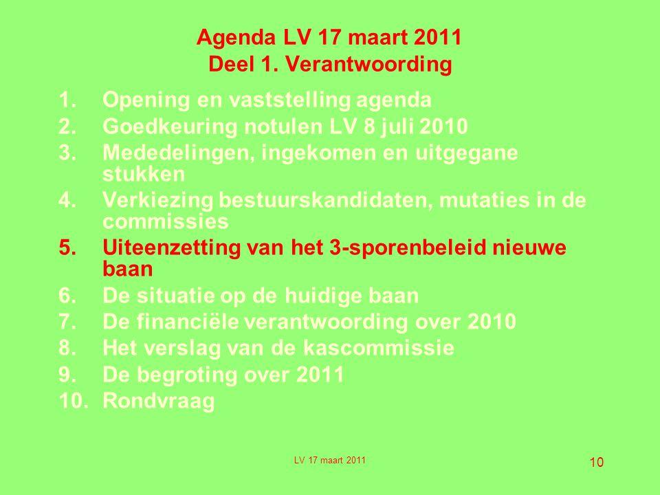 10 Agenda LV 17 maart 2011 Deel 1.