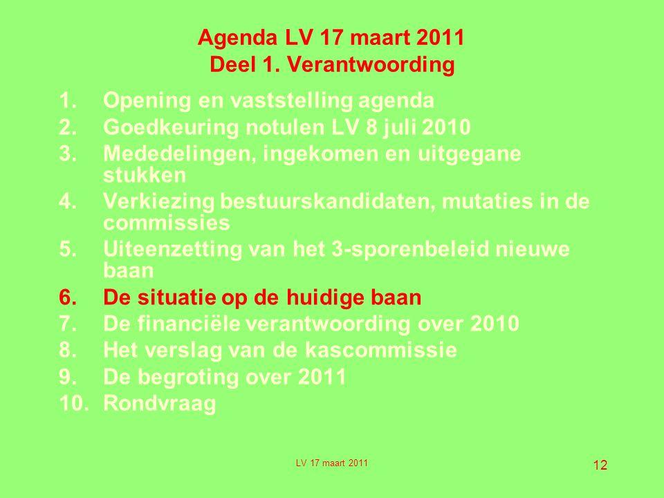 12 Agenda LV 17 maart 2011 Deel 1.