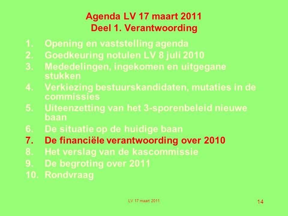 14 Agenda LV 17 maart 2011 Deel 1.