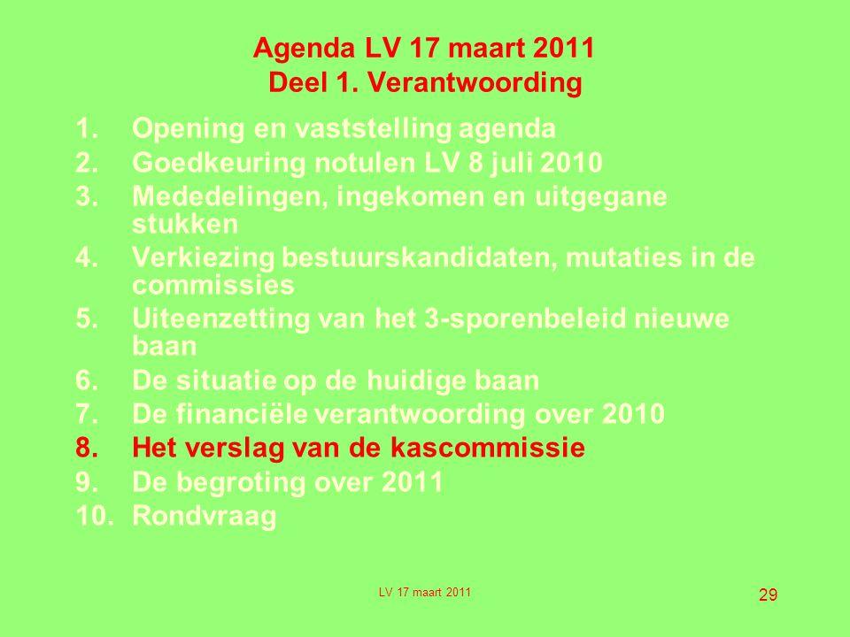 29 Agenda LV 17 maart 2011 Deel 1.