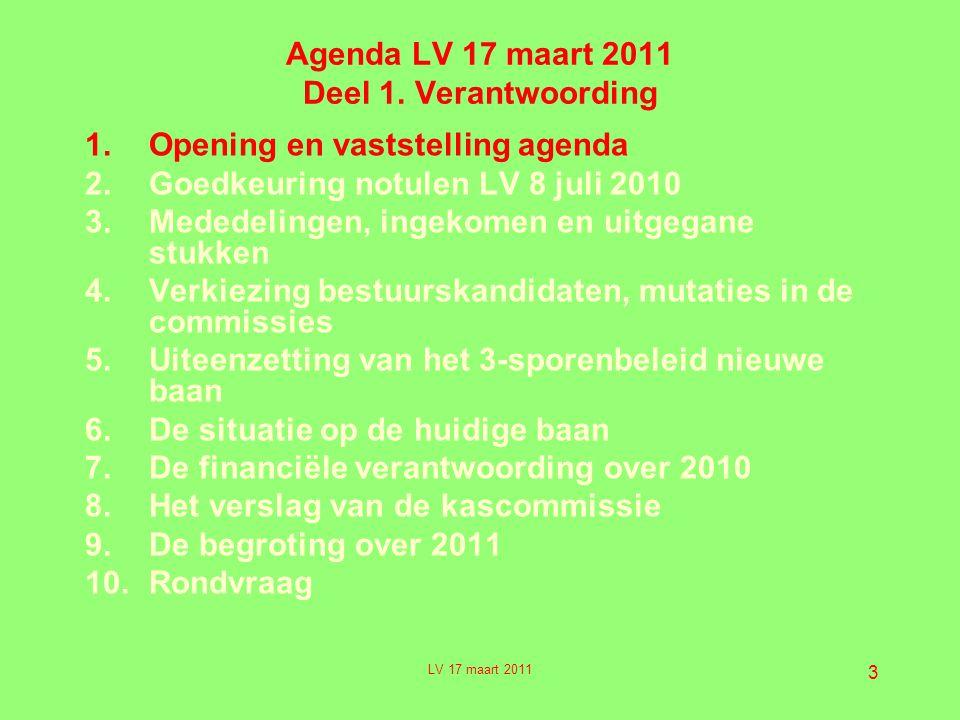 3 Agenda LV 17 maart 2011 Deel 1.