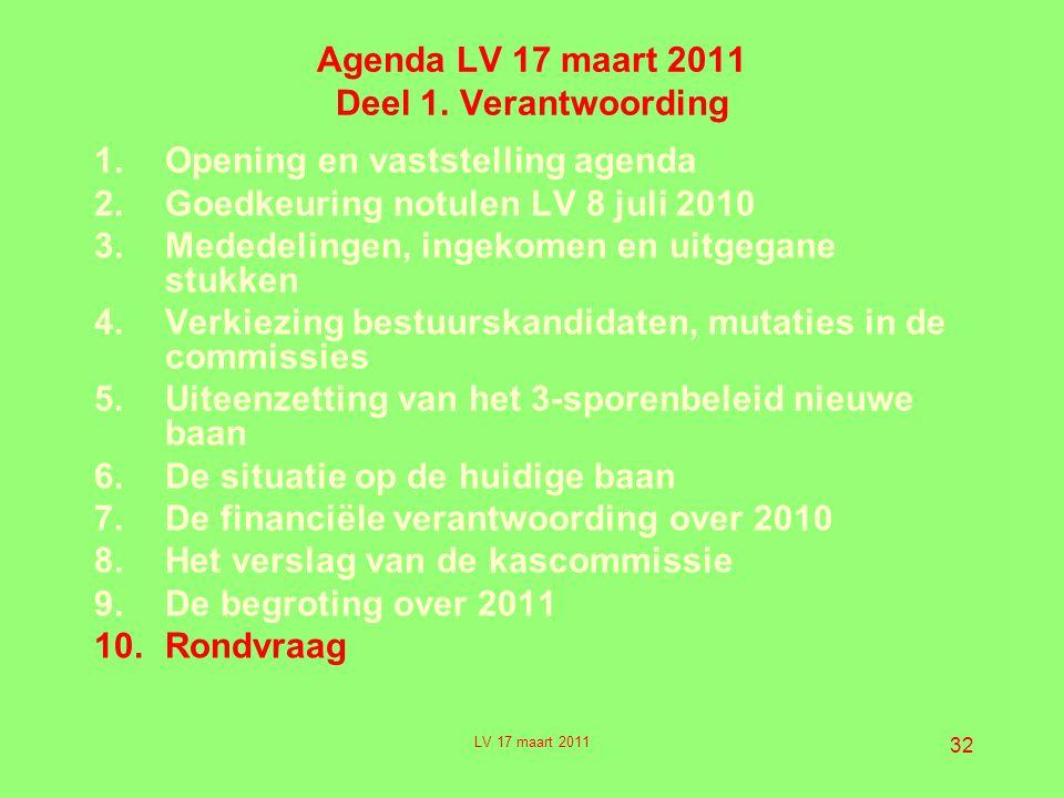 32 Agenda LV 17 maart 2011 Deel 1.