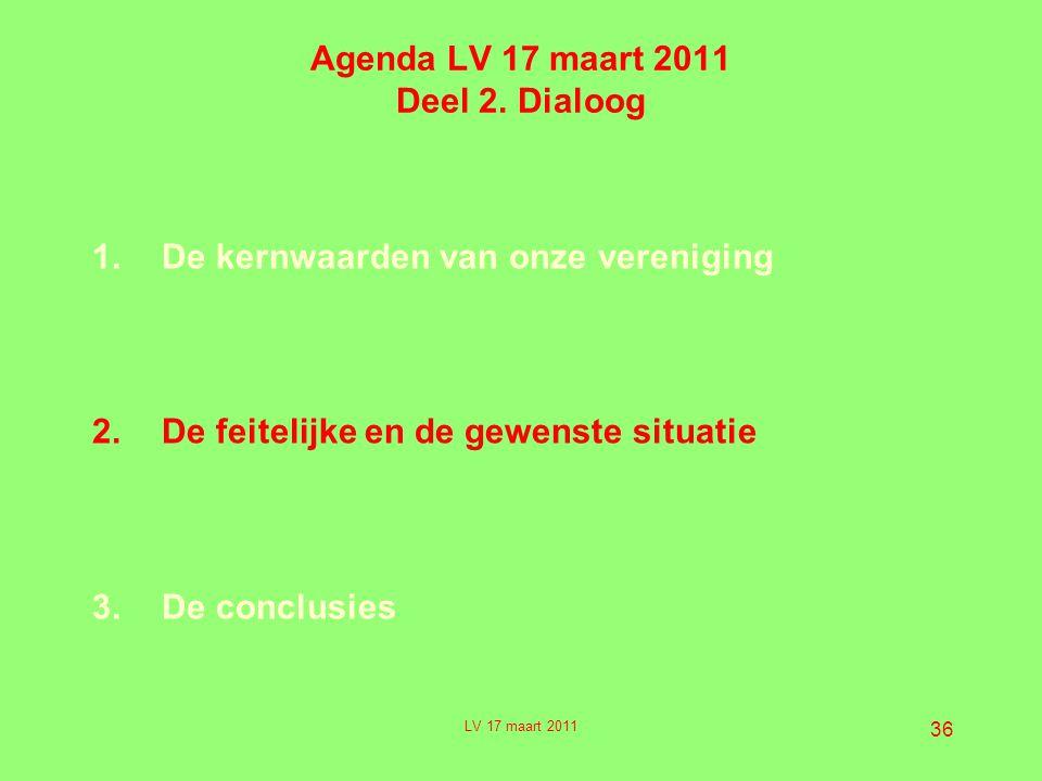 36 Agenda LV 17 maart 2011 Deel 2.