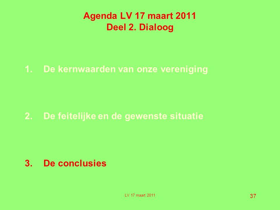 37 Agenda LV 17 maart 2011 Deel 2.