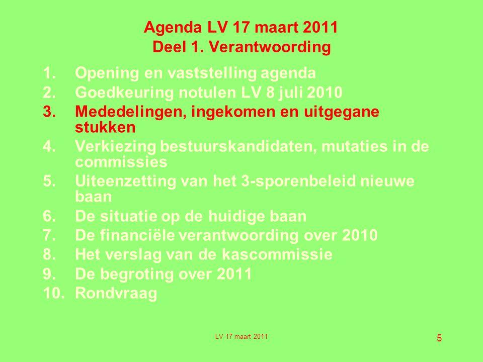 5 Agenda LV 17 maart 2011 Deel 1.