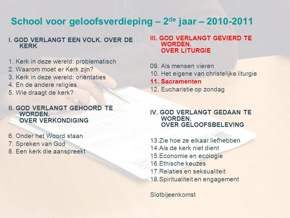 CCV in het bisdom Gent 15 • De liefde van man en vrouw als beeld van God.