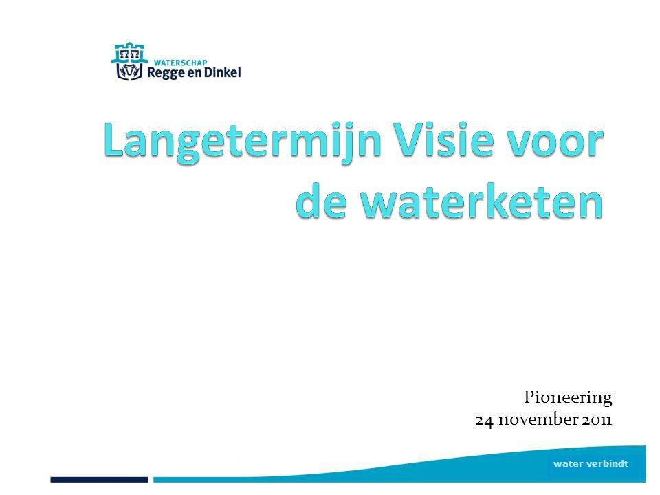 water verbindt Pioneering 24 november 2011