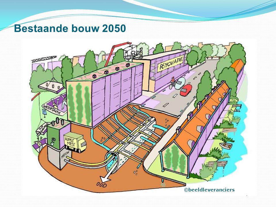 Bestaande bouw 2050 ©beeldleveranciers
