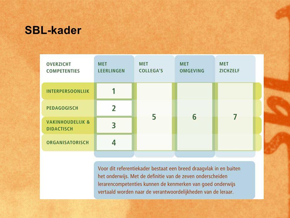 Registratie Initiële registratie –Bevoegdheid –Onderschrijven standaarden –Onderschrijven beroepsethische code –Verklaring 'informeel leren'