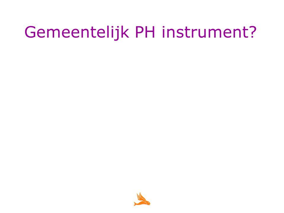 Gemeentelijk PH instrument