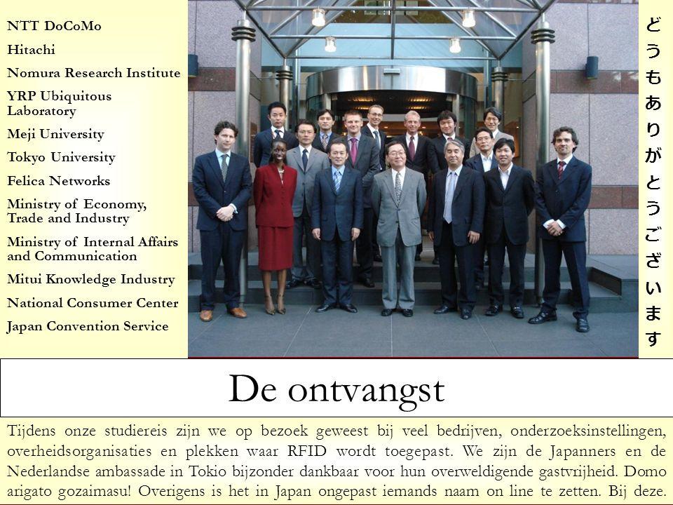 Tijdens onze studiereis zijn we op bezoek geweest bij veel bedrijven, onderzoeksinstellingen, overheidsorganisaties en plekken waar RFID wordt toegepa