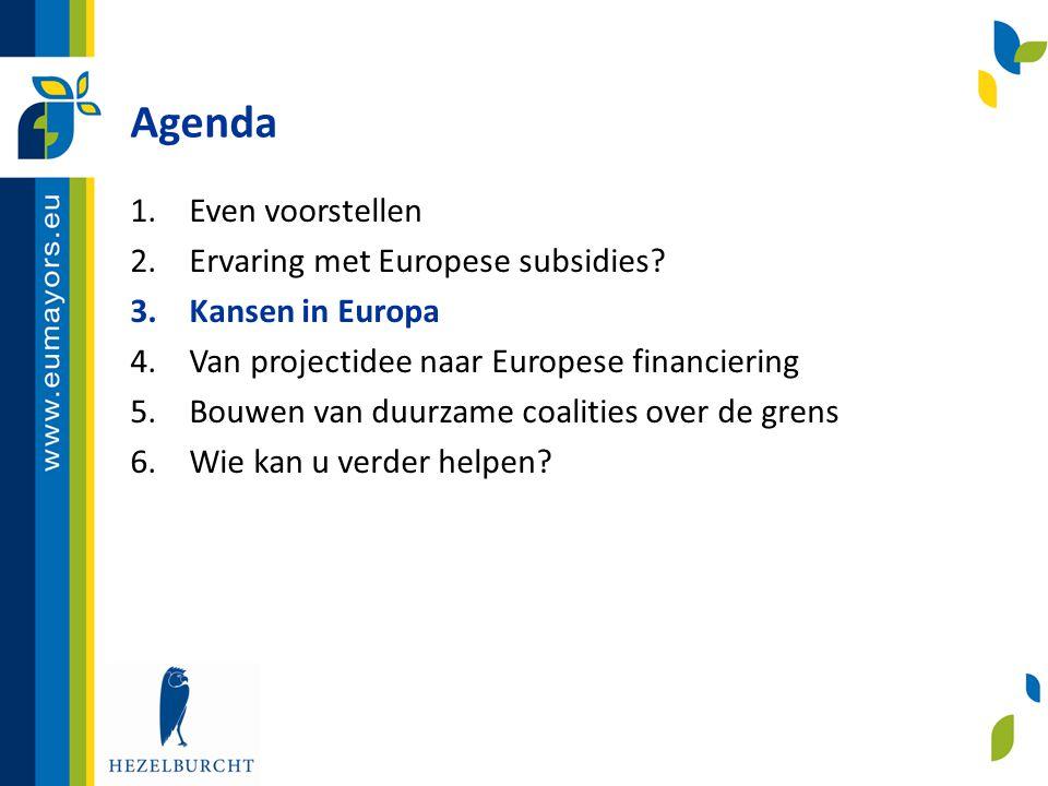 Van projectidee naar EU financiering (6) De aanvraag • Publicatie van call en relevante documenten • Een-staps of twee-staps aanvraagprocedure.