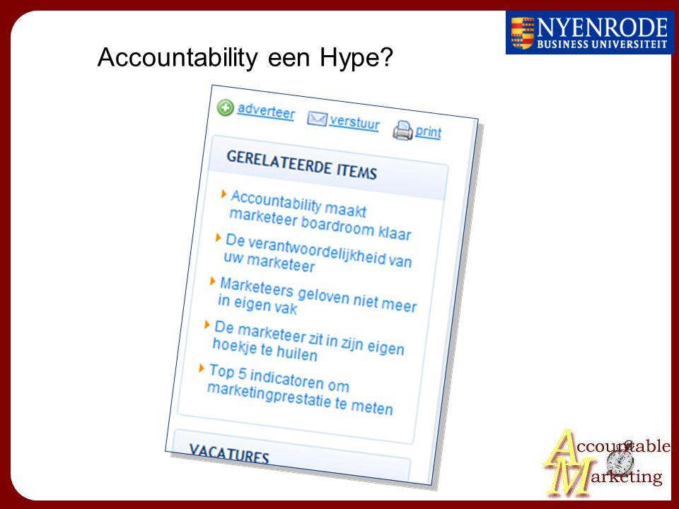 Accountability een Hype?